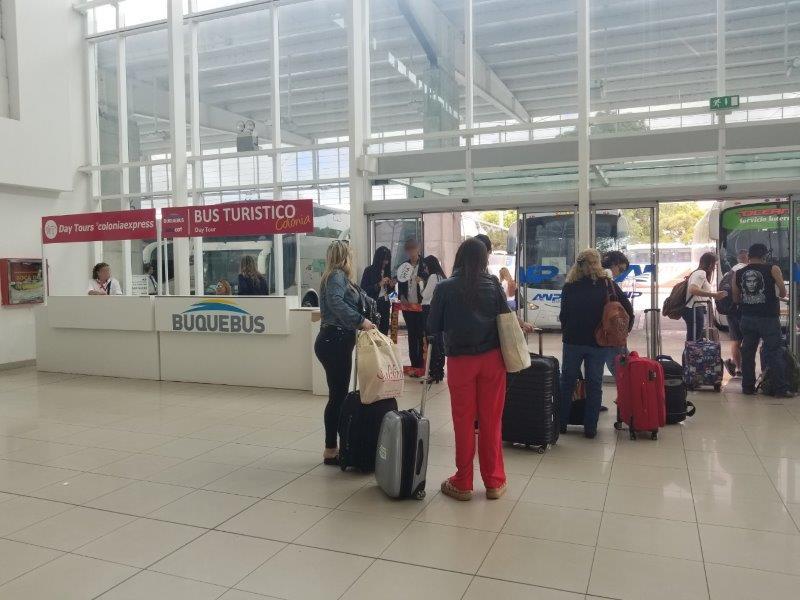 コロニアル・デル・サクラメントのフェリーのターミナル