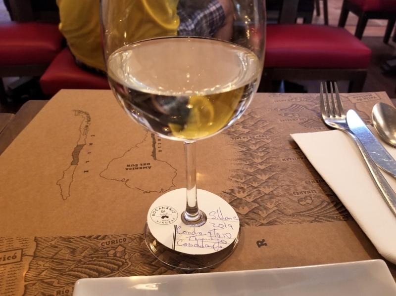 チリ・サンティアゴのグルメ。チリワインのセレクションが豊富なワインバー&レストラン。