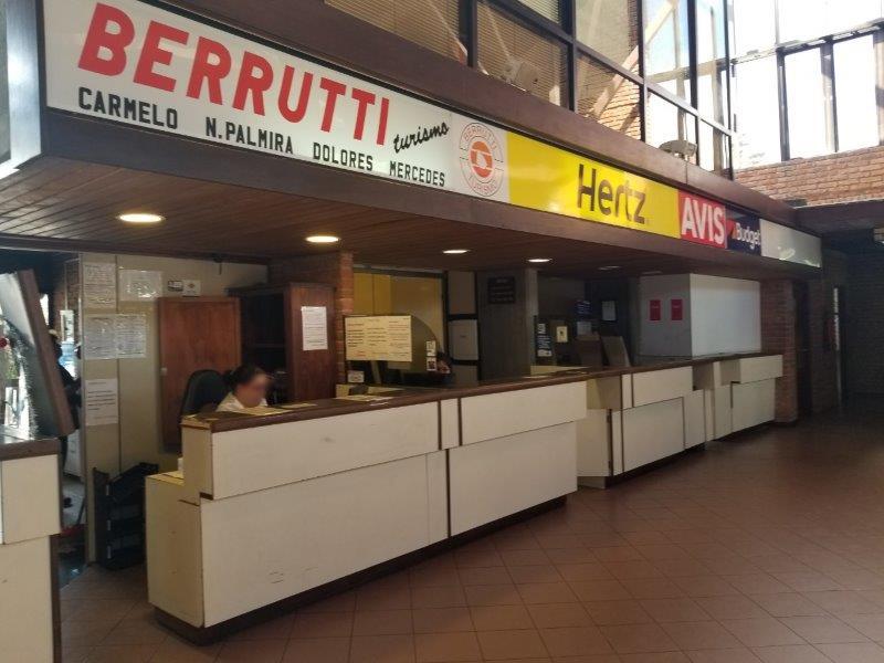 ウルグアイ「コロニア・デル・サクラメント」のバスステーション