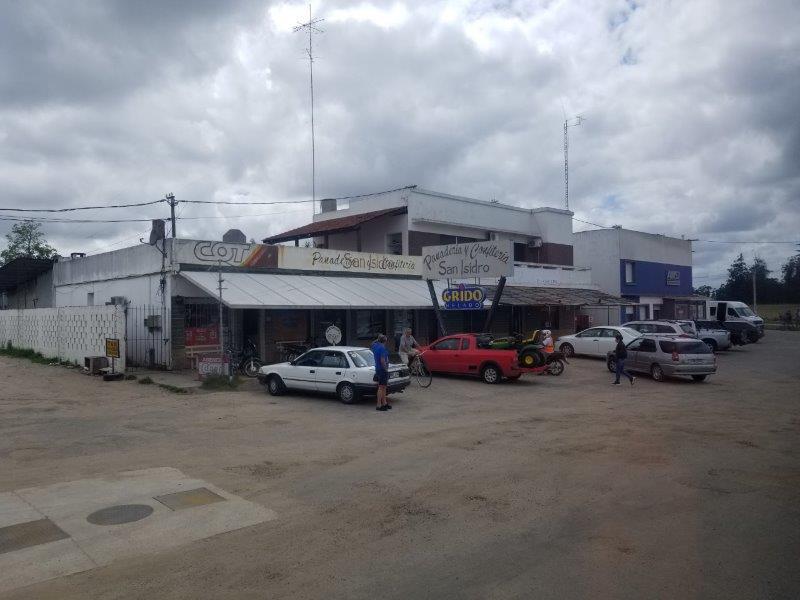 ウルグアイの小さな街