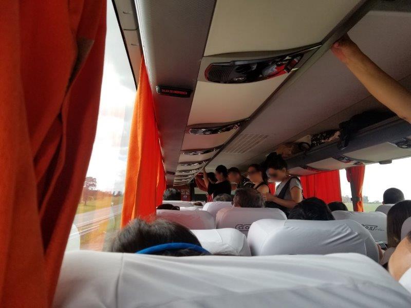 ウルグアイ旅行・国内高速バス「COT BUS」