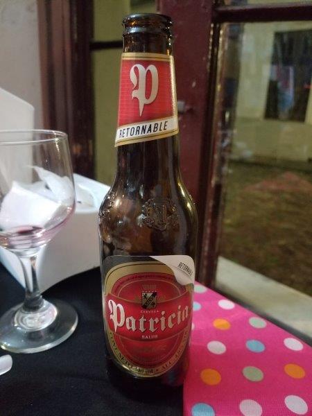 ウルグアイのビール「Patricia」