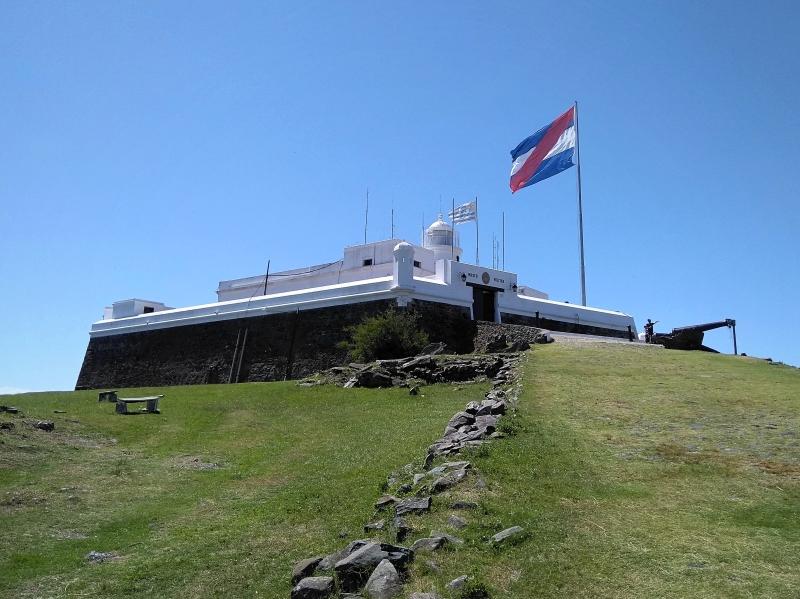 ウルグアイ・モンテビデオ観光「セーロ要塞」