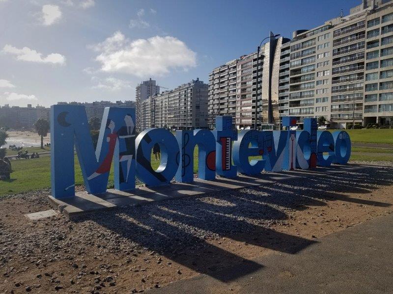 ウルグアイ・モンテビデオ観光「Letrero de Montevideo」