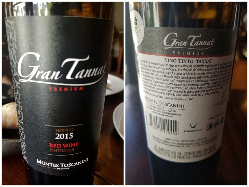 ウルグアイの赤ワイン・タナ