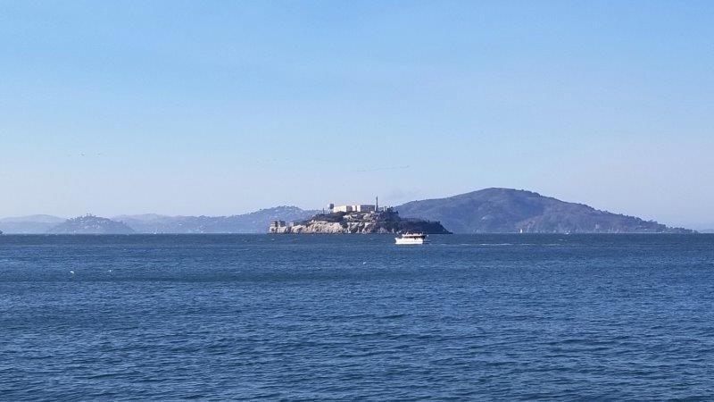 サンフランシスコの観光地・アルカトラズ島