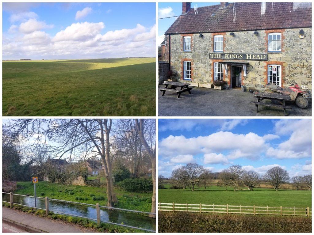 イギリスの田舎の風景