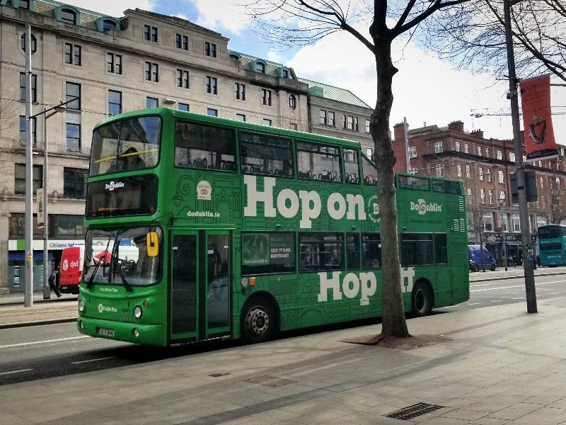 アイルランド旅行。首都ダブリンの公共交通機関