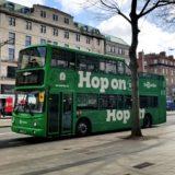 ダブリンの公共交通機関と観光バス