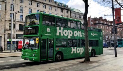 【アイルランド】ダブリンの移動+観光手段~とっても便利な緑バスたち