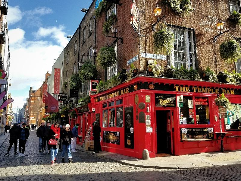 アイルランド旅行・首都ダブリンの観光名所