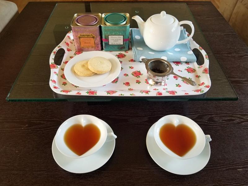 フォトナムアンドメイソンでお茶