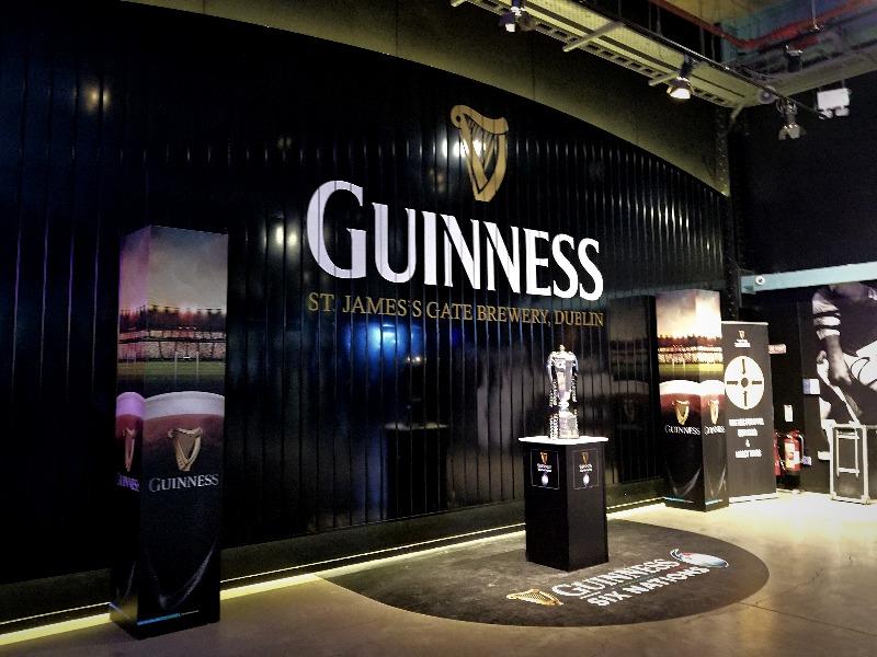 アイルランド旅行・ダブリンのギネスビール工場見学