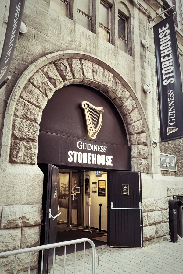 アイルランド・ダブリンのギネスビール工場見学