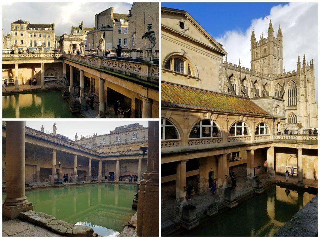 イギリス・バースのローマ浴場