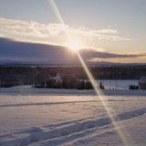 冬至のアラスカフェアバンクス