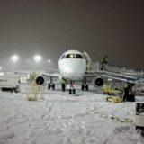 冬のエアライン運航