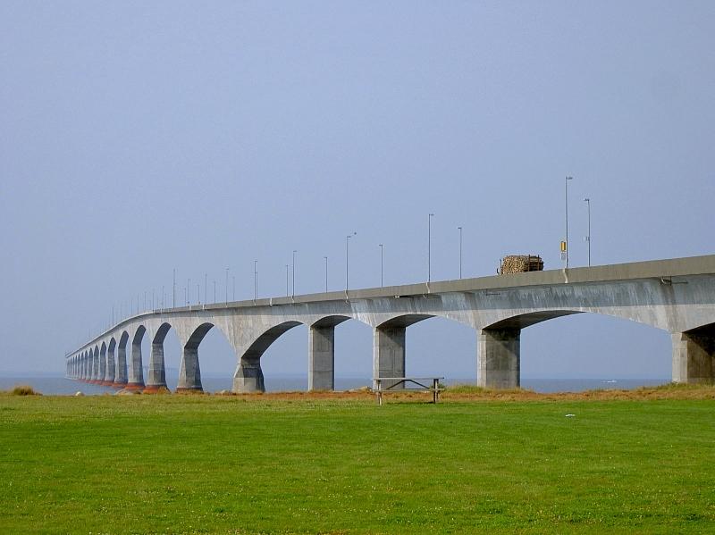 プリンスエドワード島のコンフェデレーション橋