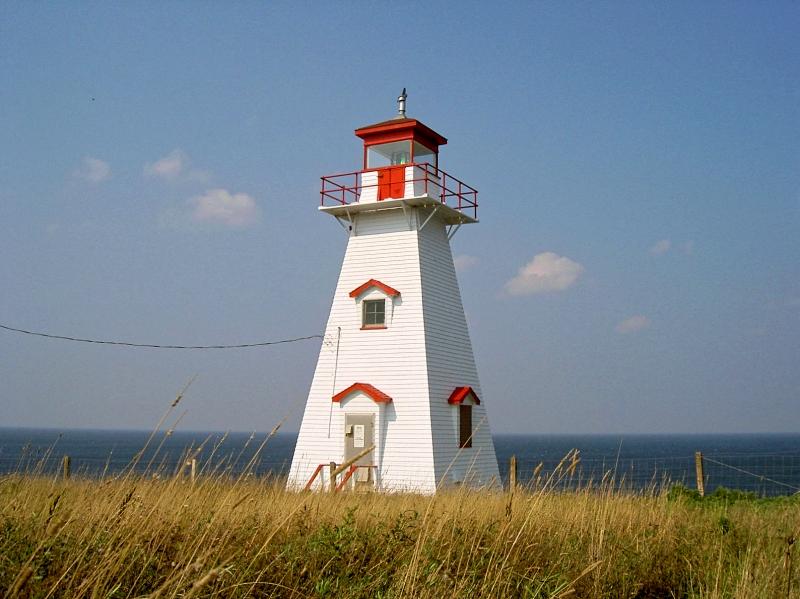 プリンスエドワード島・ケープトライオン灯台
