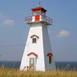 プリンスエドワード島の灯台巡り・ケープトライオン灯台