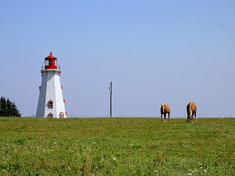 プリンスエドワード島の灯台巡り