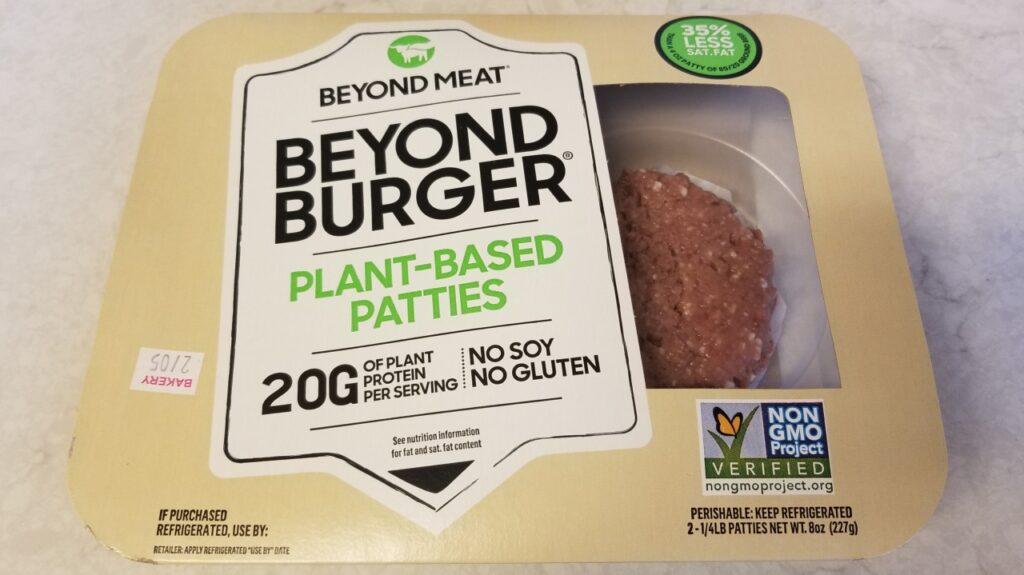 ベジバーガーのビヨンドバーガー (Beyond Burger)