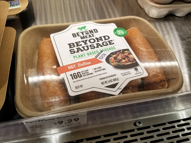 ベジタリアンソーセージ・ビヨンドソーセージ (Beyond Sausage)