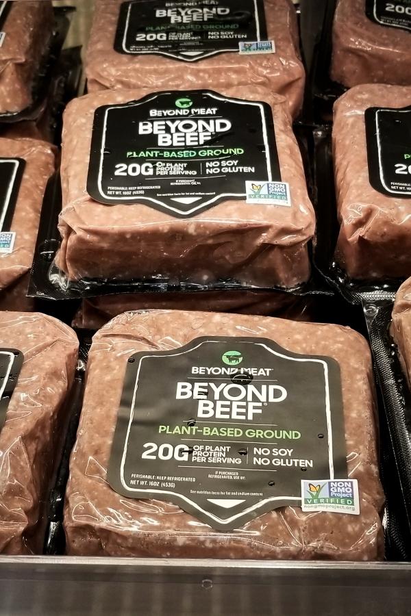 ベジタリアンビーフのビヨンドビーフ (Beyond Beef)
