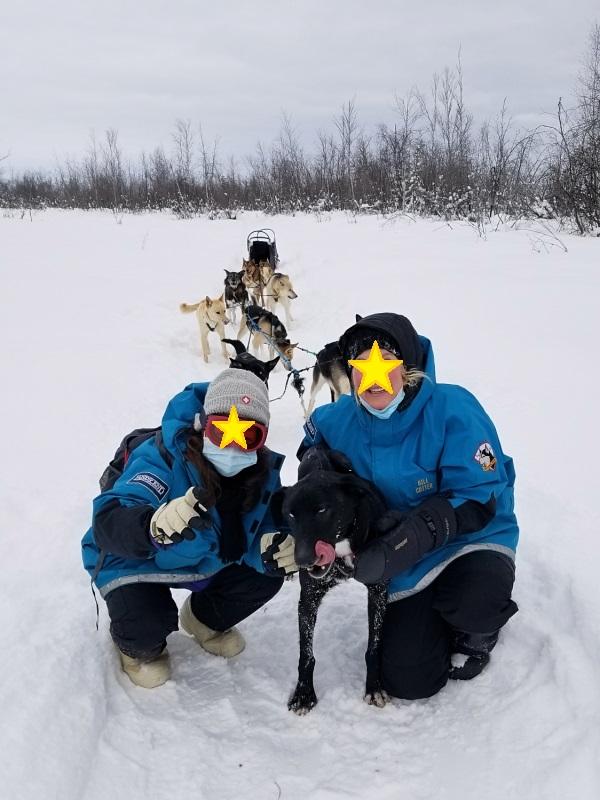 アラスカ・フェアバンクスの犬ぞり・服装